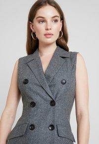 UNIQUE 21 - DRESS - Vestido camisero - grey - 4