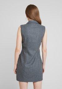 UNIQUE 21 - DRESS - Vestido camisero - grey - 3