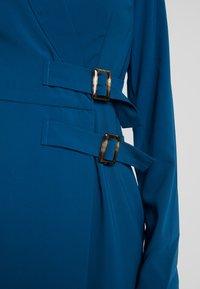 UNIQUE 21 - BELTED BLAZER DRESS - Robe d'été - blue - 6