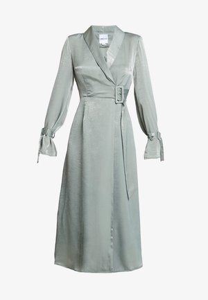 WRAP DRESS - Maxi šaty - sage