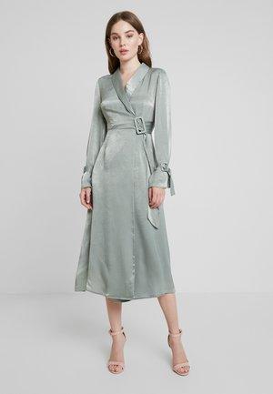 WRAP DRESS - Maxiklänning - sage