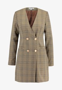 UNIQUE 21 - TAILORED IN CHECK - Shirt dress - tan - 5
