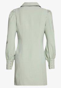 UNIQUE 21 - PUFF SLEEVE BLAZER DRESS - Day dress - fresh sage - 1