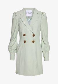 UNIQUE 21 - PUFF SLEEVE BLAZER DRESS - Day dress - fresh sage - 0