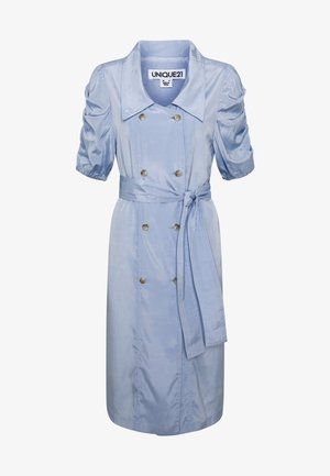VINTAGE TAILORED PUFF SLEEVE BLAZER DRESS - Denní šaty - blue