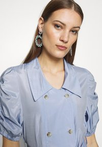 UNIQUE 21 - VINTAGE TAILORED PUFF SLEEVE BLAZER DRESS - Korte jurk - blue - 4
