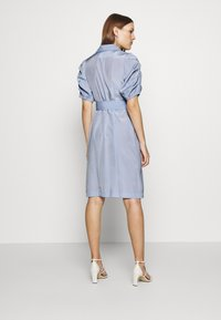 UNIQUE 21 - VINTAGE TAILORED PUFF SLEEVE BLAZER DRESS - Korte jurk - blue
