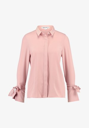 WITH TIE CUFF AND WRAP BACK DETAIL - Skjorte - pink