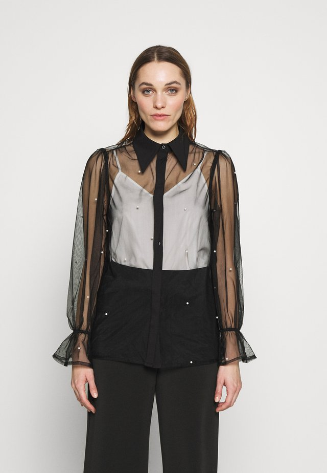 EMBELLISHED - Camicia - black