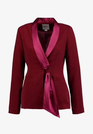 TAILORED WITH FRONT TIE DETAIL - Żakiet - blush