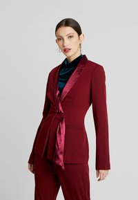 UNIQUE 21 - TAILORED WITH FRONT TIE DETAIL - Blazer - blush - 0