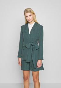 UNIQUE 21 - PEACOCK TIE-SIDE - Blazer - green - 0