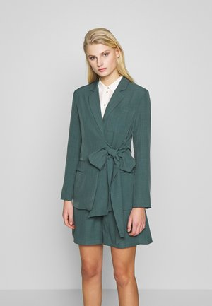 PEACOCK TIE-SIDE - Blazer - green
