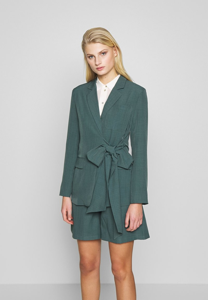 UNIQUE 21 - PEACOCK TIE-SIDE - Blazer - green