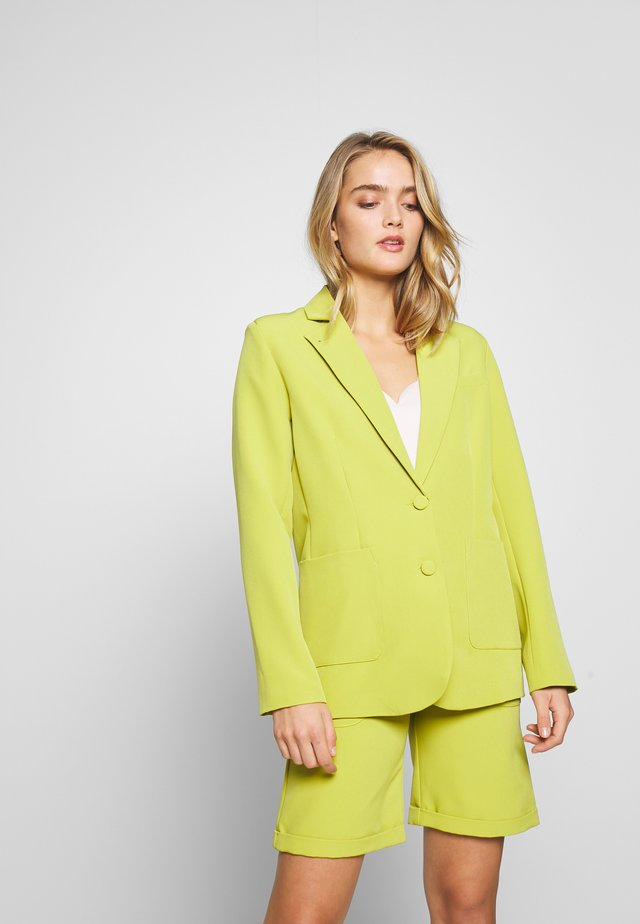 TAILORED SINGLE BREAST - Blazer - lime