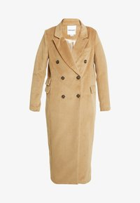 UNIQUE 21 - DOUBLE BREASTED - Classic coat - camel - 4