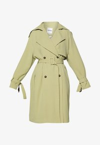 UNIQUE 21 - SAGE OVERSIZED TRENCH COAT - Trenčkot - pistachio - 4