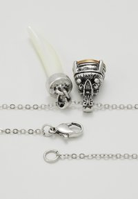 Uncommon Souls - TUSK AND JEWEL - Necklace - silver-coloured - 2