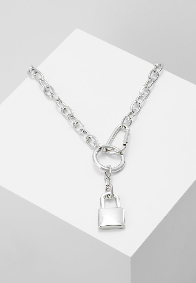 Uncommon Souls - PADLOCK - Collana - silver-coloured
