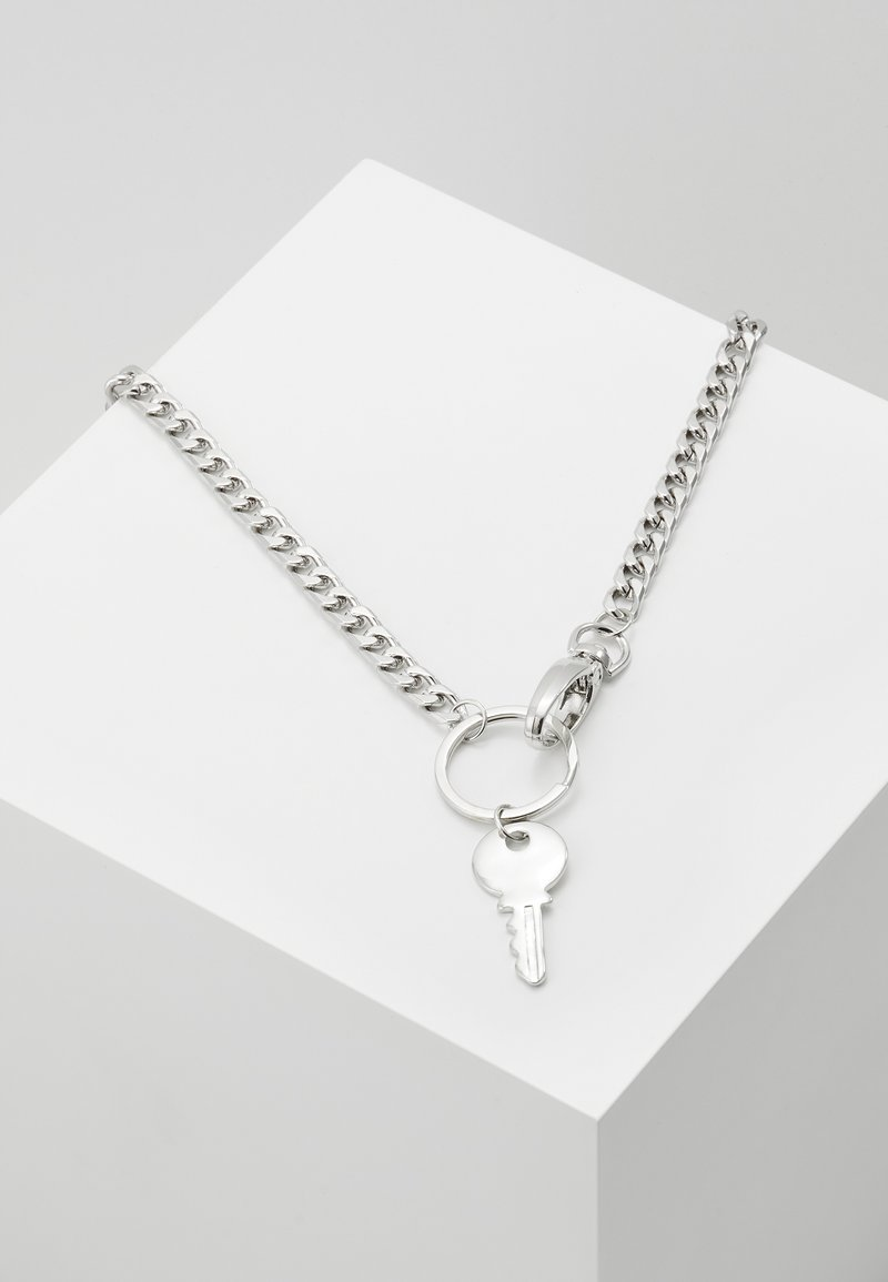 Uncommon Souls - KEY CHAIN NECKLACE - Collana - silver-coloured