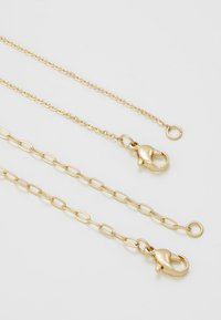 Uncommon Souls - UNCOMMON SOULS MULTIROW NECKLACE - Collana - gold-coloured - 2