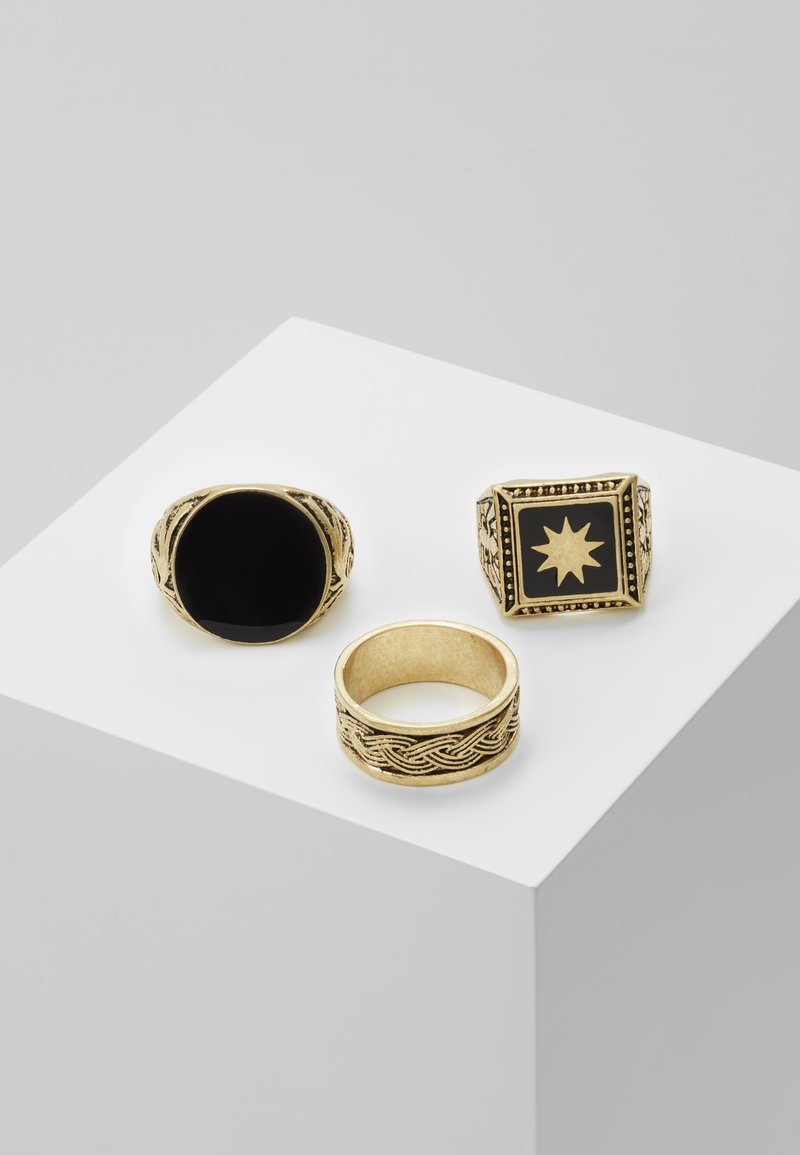 Uncommon Souls - WESTERN - Ring - gold-coloured