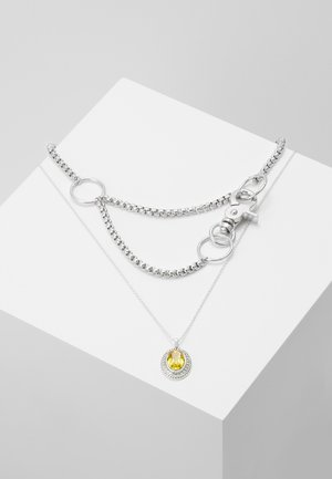 LAYERED CHAIN - Náhrdelník - silver-coloured