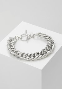 Uncommon Souls - CHUNKY T BAR  - Bracelet - silver-coloured - 0