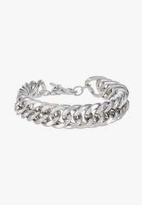 Uncommon Souls - CHUNKY T BAR  - Bracelet - silver-coloured - 1