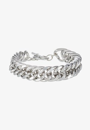 CHUNKY T BAR  - Bracelet - silver-coloured