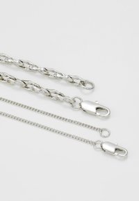 Uncommon Souls - SAFETY PIN CHAIN 2 PACK  - Ketting - silver-coloured - 3