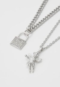Uncommon Souls - CHERUB PADLOCK 2 PACK - Ketting - silver-coloured - 4