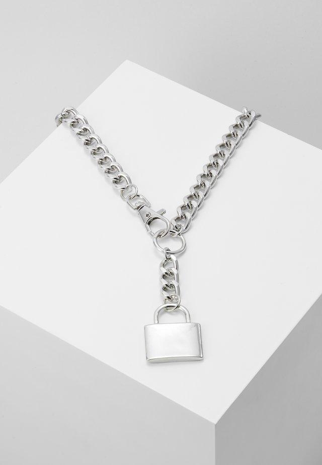 CHUNKY YNECK  - Náhrdelník - silver-coloured