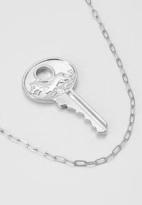 Uncommon Souls - KEY PENDANT  - Necklace - silver-coloured - 4