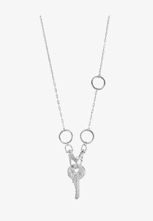 KEY PENDANT  - Collana - silver-coloured