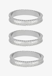 Uncommon Souls - 3 PACK - Ring - silver-coloured - 3