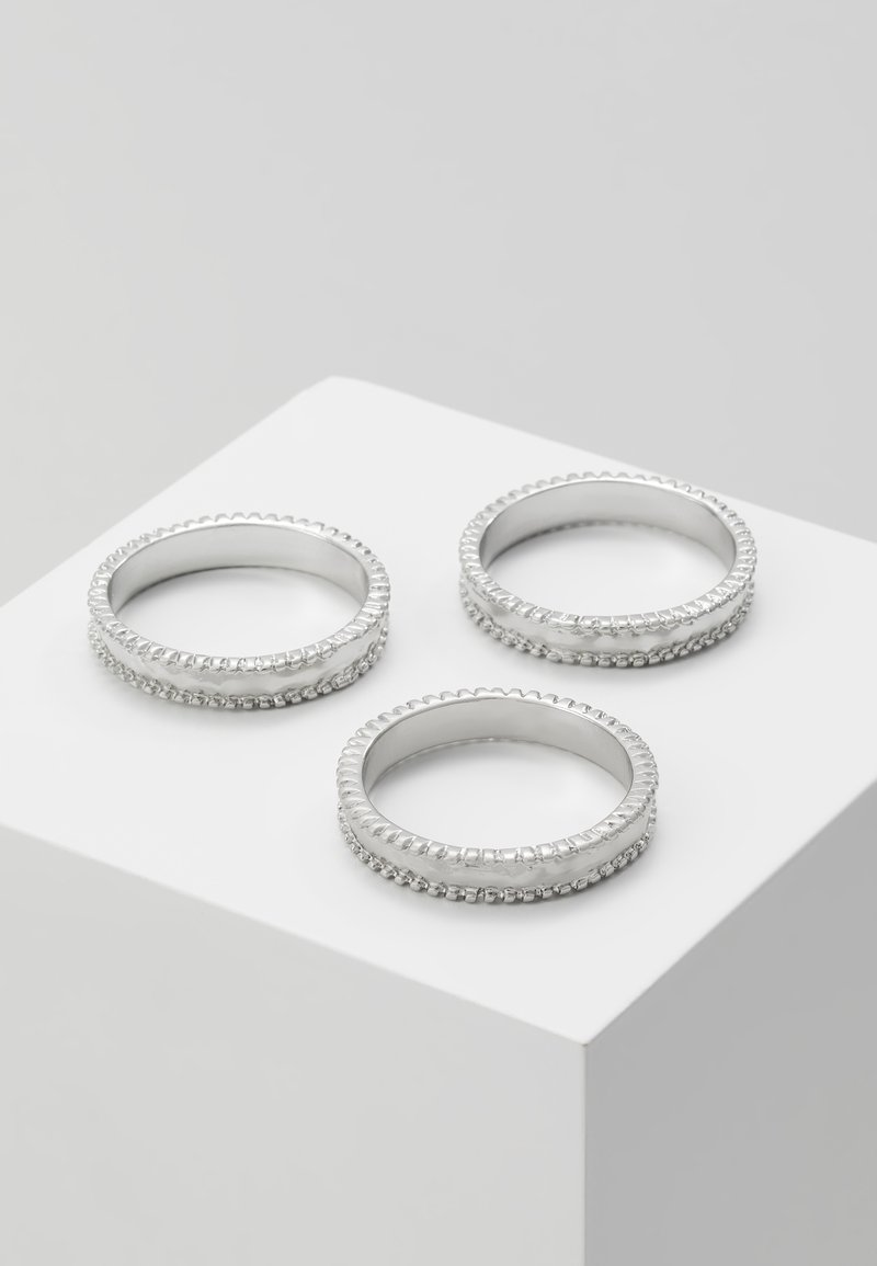 Uncommon Souls - 3 PACK - Ring - silver-coloured
