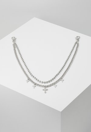 CROSS BALL CHAIN  - Ketting - silver-coloured
