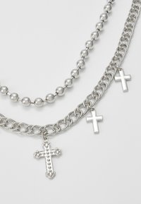 Uncommon Souls - CROSS BALL CHAIN  - Náhrdelník - silver-coloured - 2