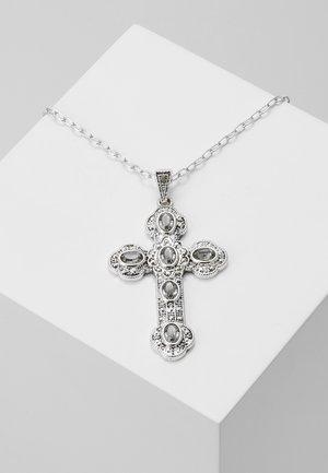 CROSS - Náhrdelník - silver-coloured