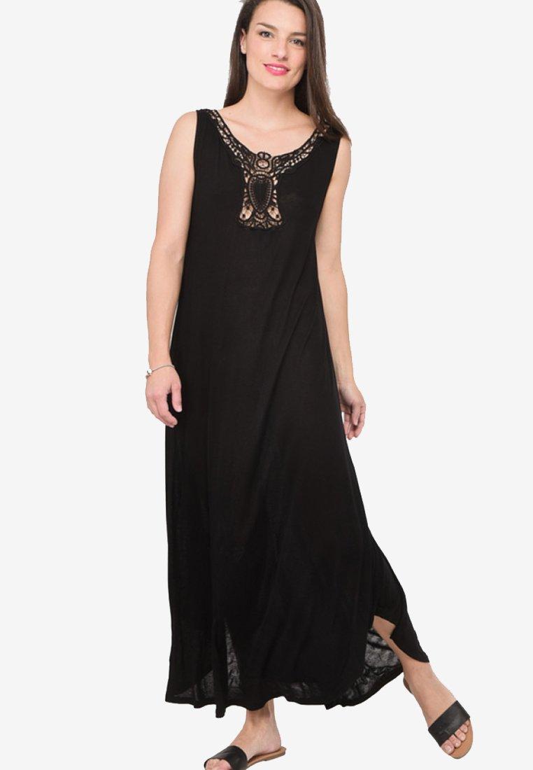 Ulla Popken - Maxi dress - black