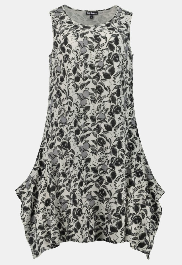 Day dress - weiß-schwarz