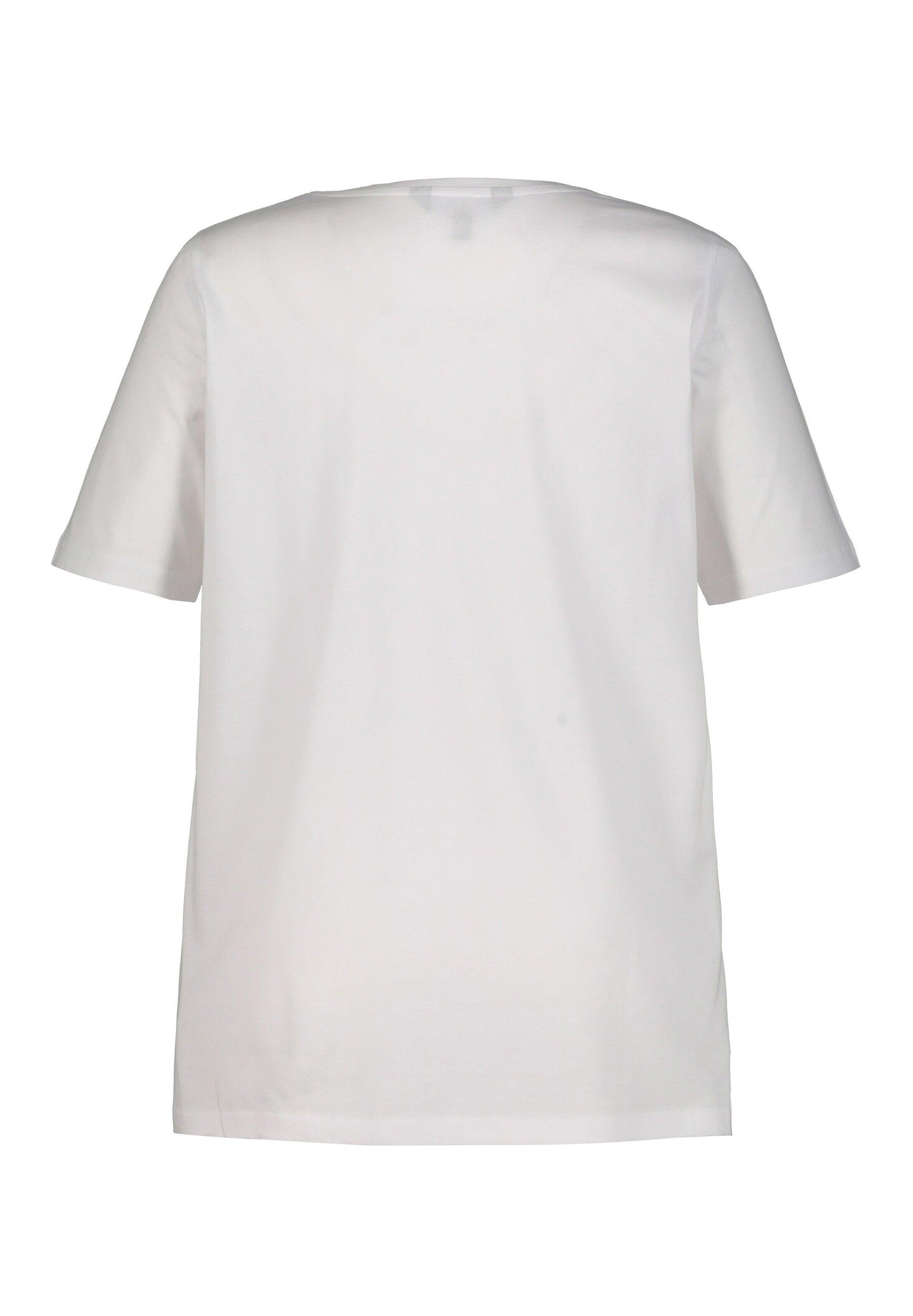 Ulla Popken Ullasmädels Clas - Print T-shirt White