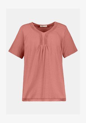 Print T-shirt - rosenholz