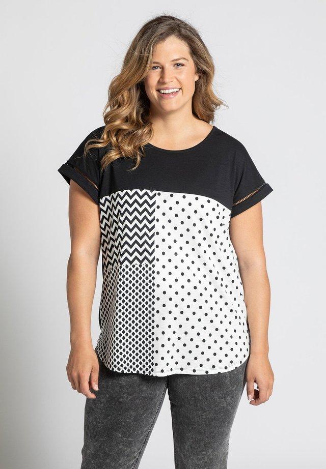 GROSSE GRÖSSEN  - Print T-shirt - marine
