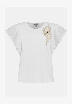 T-Shirt print - weiß