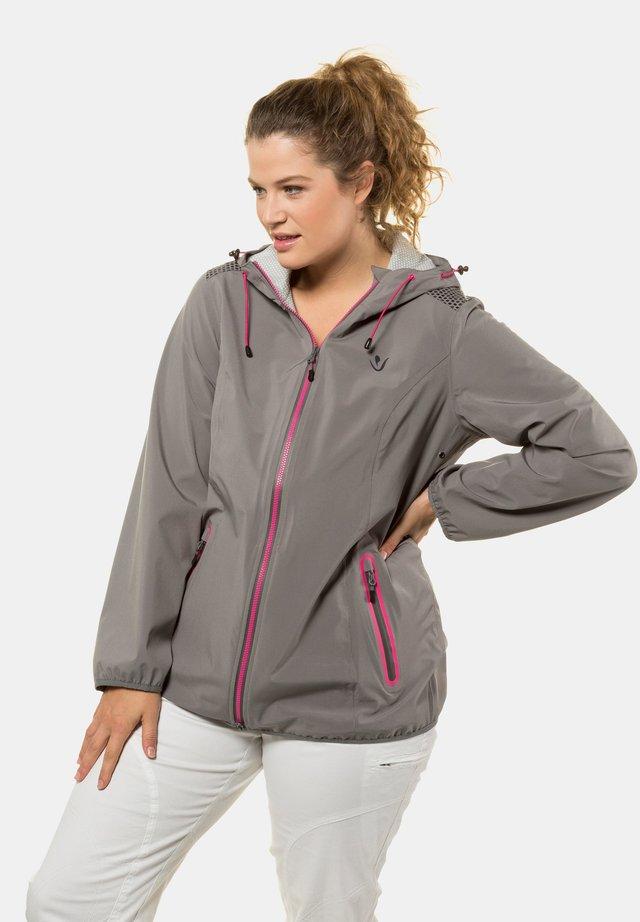 Outdoor jacket - mittelgrau