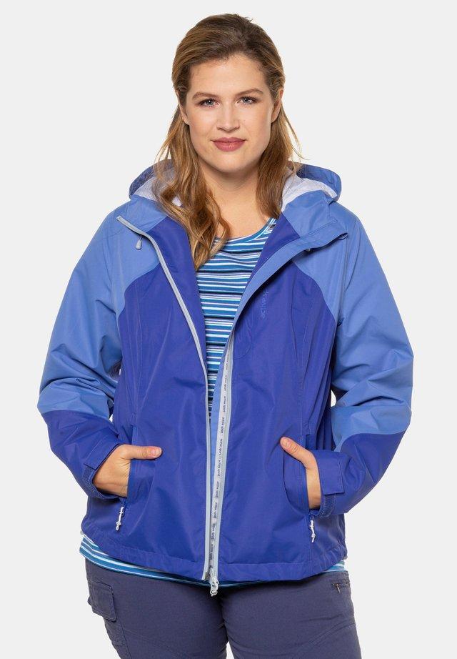 Waterproof jacket - clematisblau
