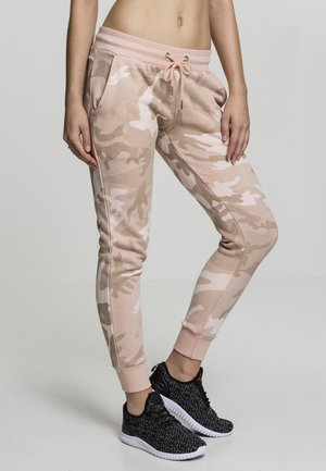 TERRY - Tracksuit bottoms - rose