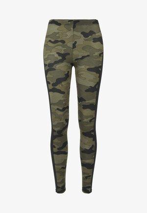 Leggings - Trousers - woodcamo/blk